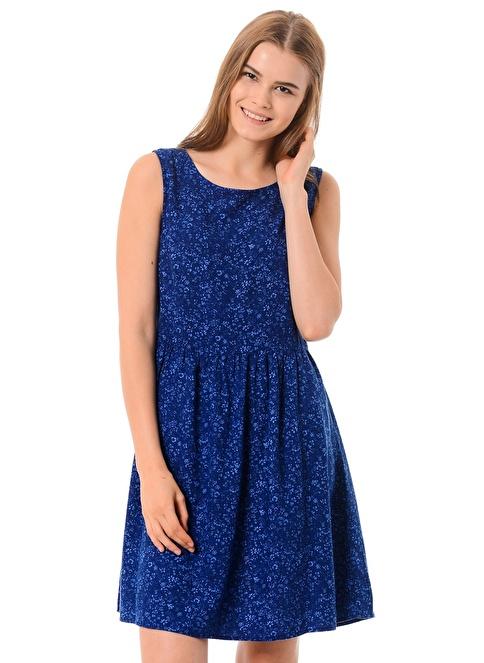 Mavi Günlük Elbise Lacivert